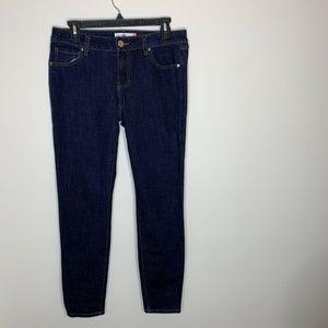 CAbi Skinny Dark Wash Jeans Denim Womens Size 6